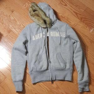 Abercrombie fur sweater